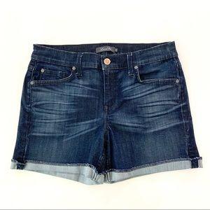 Level 99 Rolled Hem High Rise Shorts Size 28